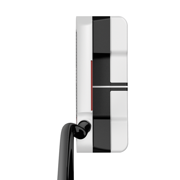 Putter O-Works n.º 1 Wide blanco/negro/blanco