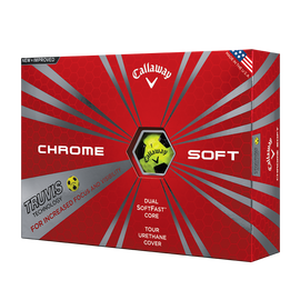 Chrome Soft Truvis amarilla y negra
