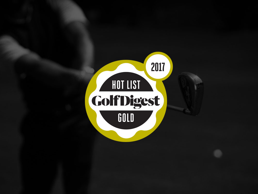 Callaway Steelhead XR Irons 2017 Golf Digest Hot List Badge