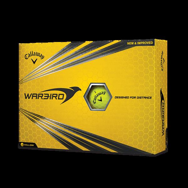 Pelota de golf Warbird amarillo Technology Item