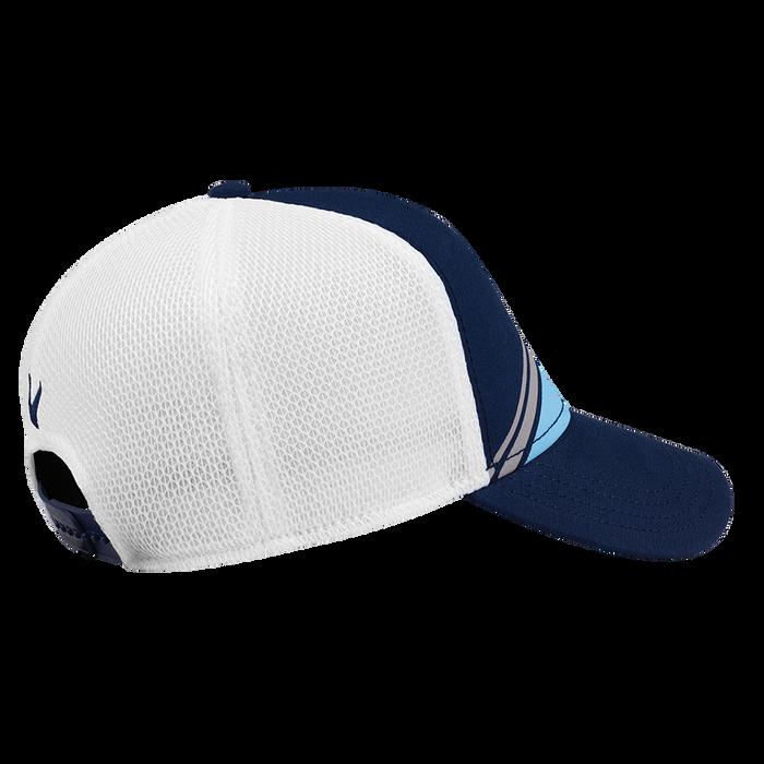Stripe Mesh Cap