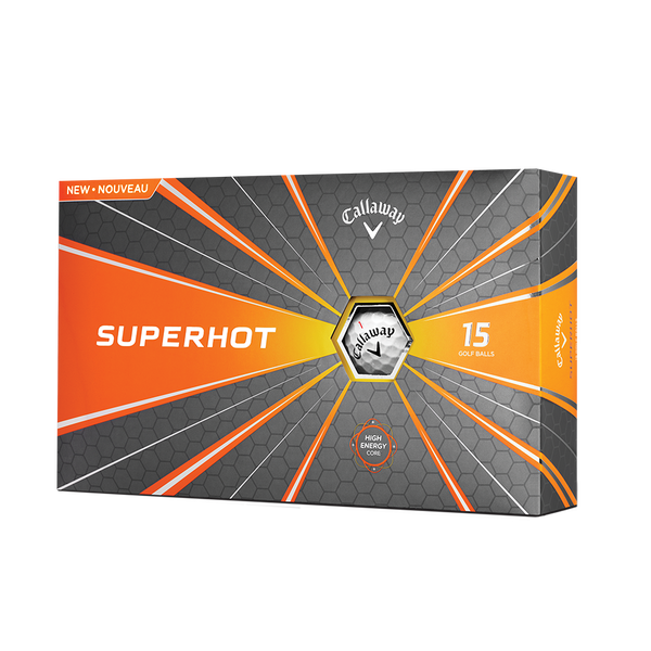 Superhot 15-Pack Golf Balls Technology Item