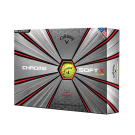 Pelota de golf Chrome Soft X Amarillo