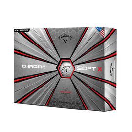 Pelota de golf Chrome Soft X