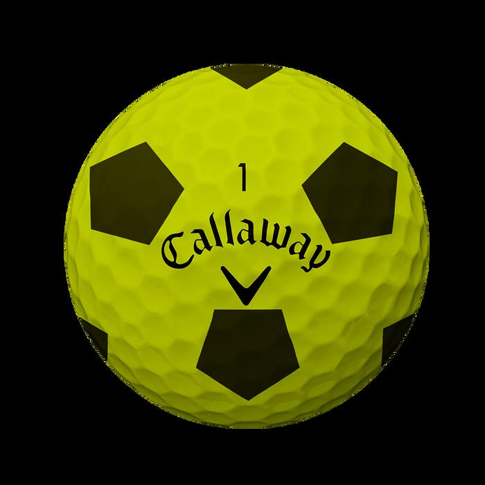 Pelota de golf Chrome Soft Truvis Amarillo