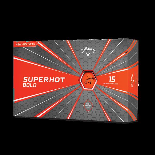 Pelota de golf Superhot Bold Mate Naranja 15-Pack Technology Item