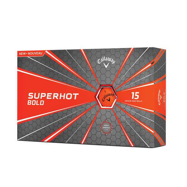 Pelota de golf Superhot Bold Mate Naranja 15-Pack Technology Item