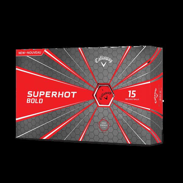 Pelota de golf Superhot Bold Mate Rojo 15-Pack Technology Item