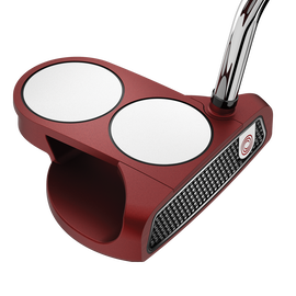 Putter Odyssey 2-Ball O-Works Rojo