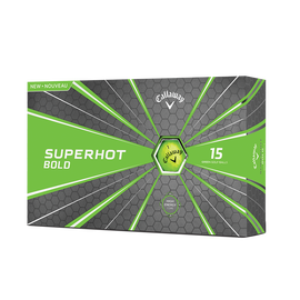 Superhot Bold Matte Green 15-Pack Golf Balls