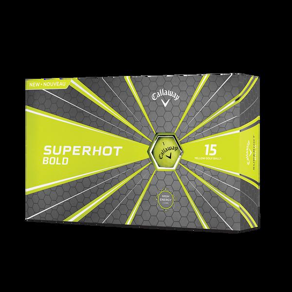 Pelota de golf Superhot Bold Mate Amarillo 15-Pack Technology Item