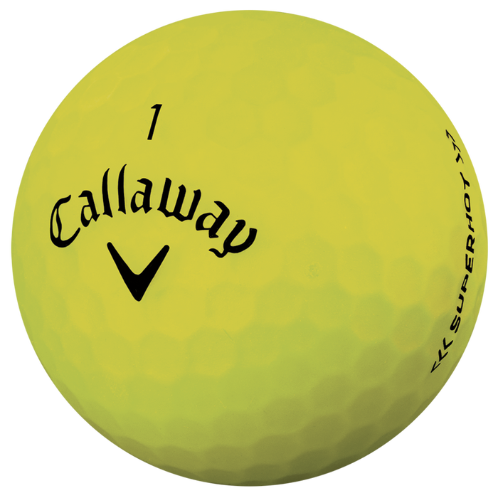 Pelota de golf Superhot Bold Mate Amarillo 15-Pack