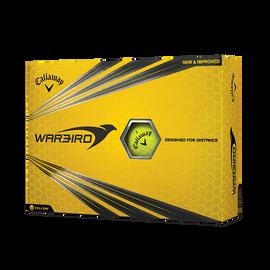 Pelota de golf Warbird amarillo