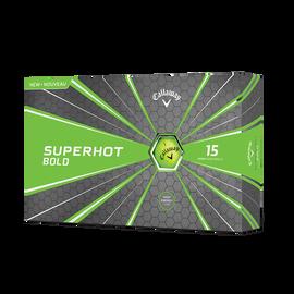 Superhot Bold Matte Green 15-Pack Golf Balls