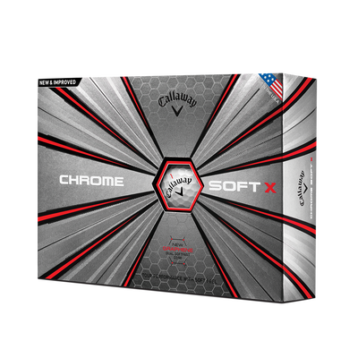 Pelota de golf Chrome Soft X Thumbnail
