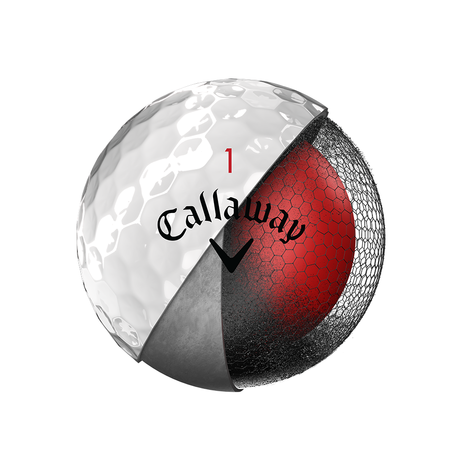 Pelota de golf Chrome Soft - View 3