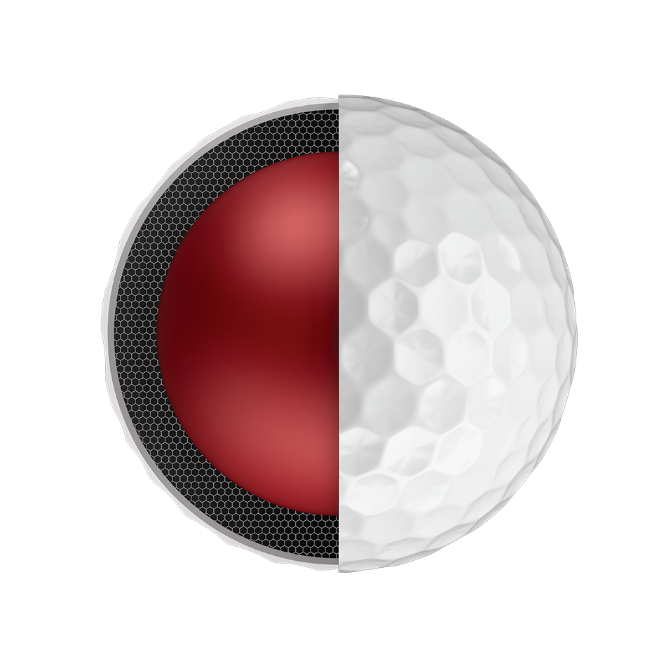 Pelota de golf Chrome Soft - View 4