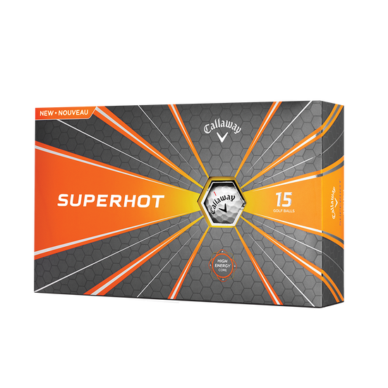 Pelota de golf Superhot 15-Pack