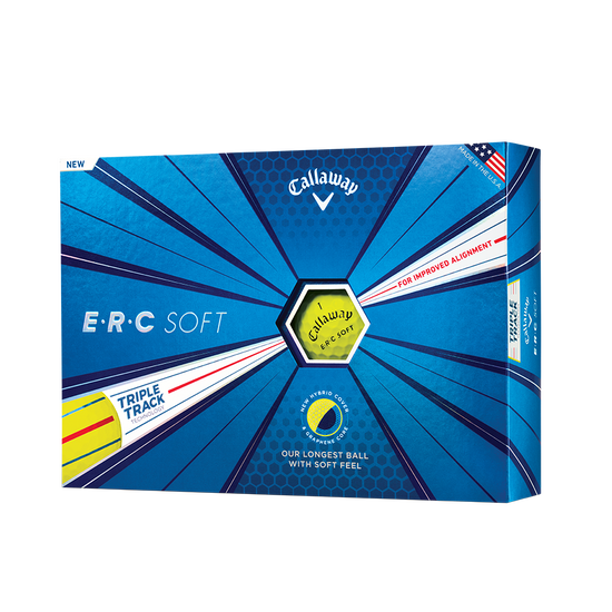 ERC Soft Yellow Golf Balls