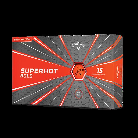 Pelota de golf Superhot Bold Mate Naranja 15-Pack