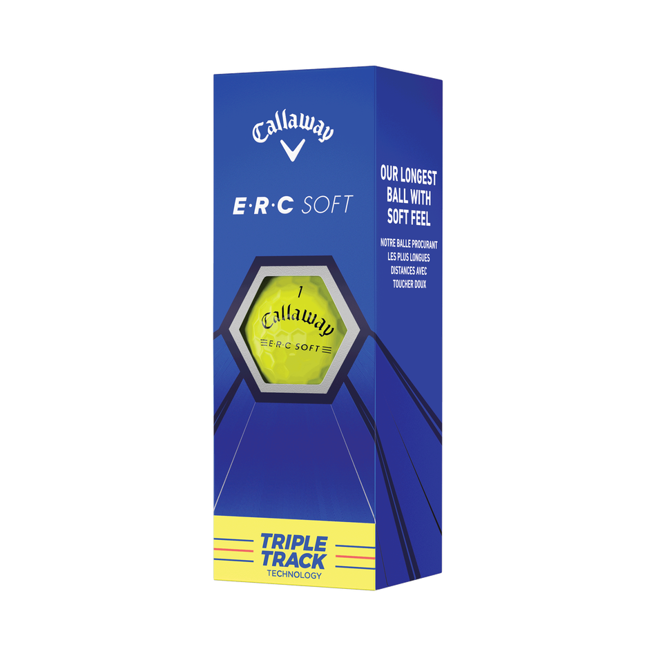 E•R•C Soft Yellow Golf Balls - View 4