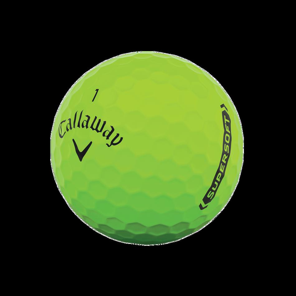Callaway Supersoft Matte Green Golf Balls - View 4