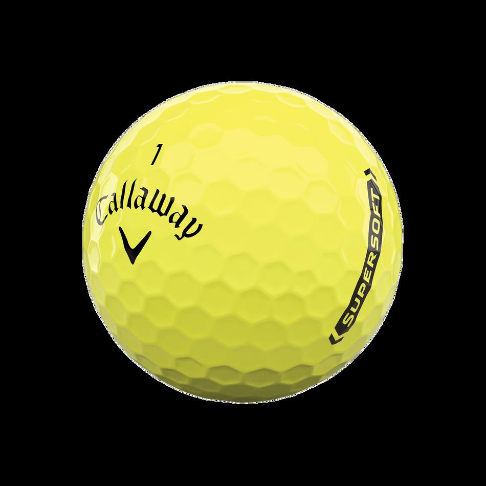 Callaway Supersoft Yellow Golf Balls - View 4
