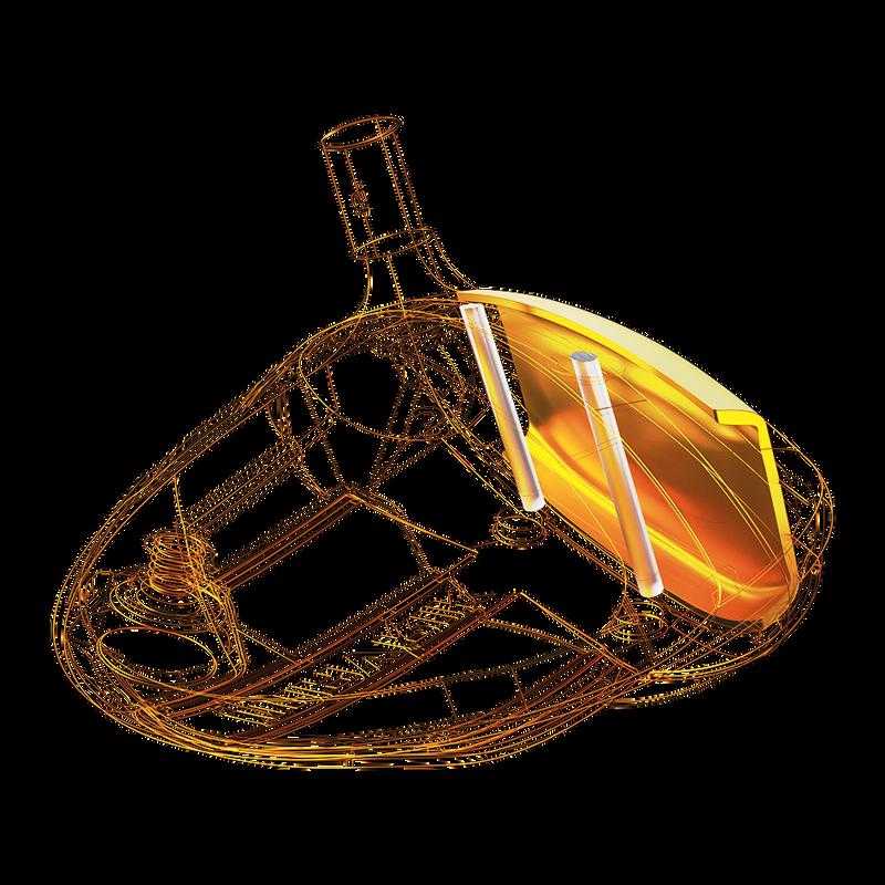 Jailbreak, copa de cara y corona de carbono T2C illustration