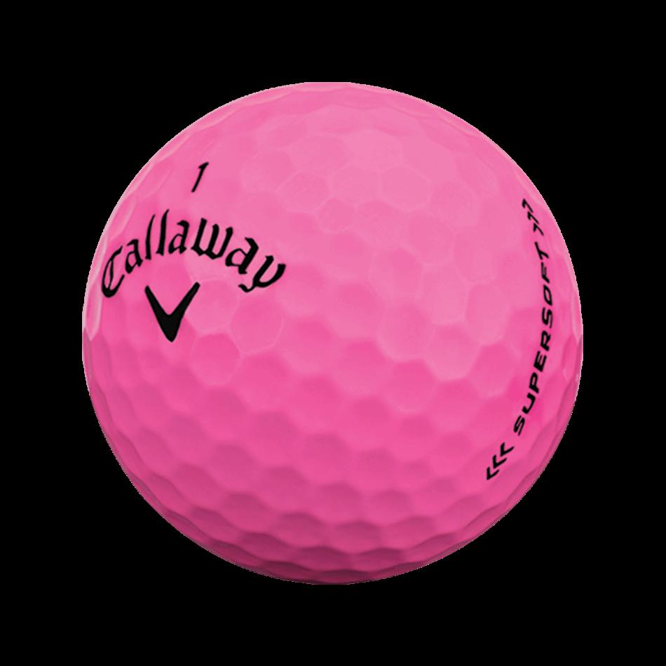Supersoft Pink Golf Balls Technology Item