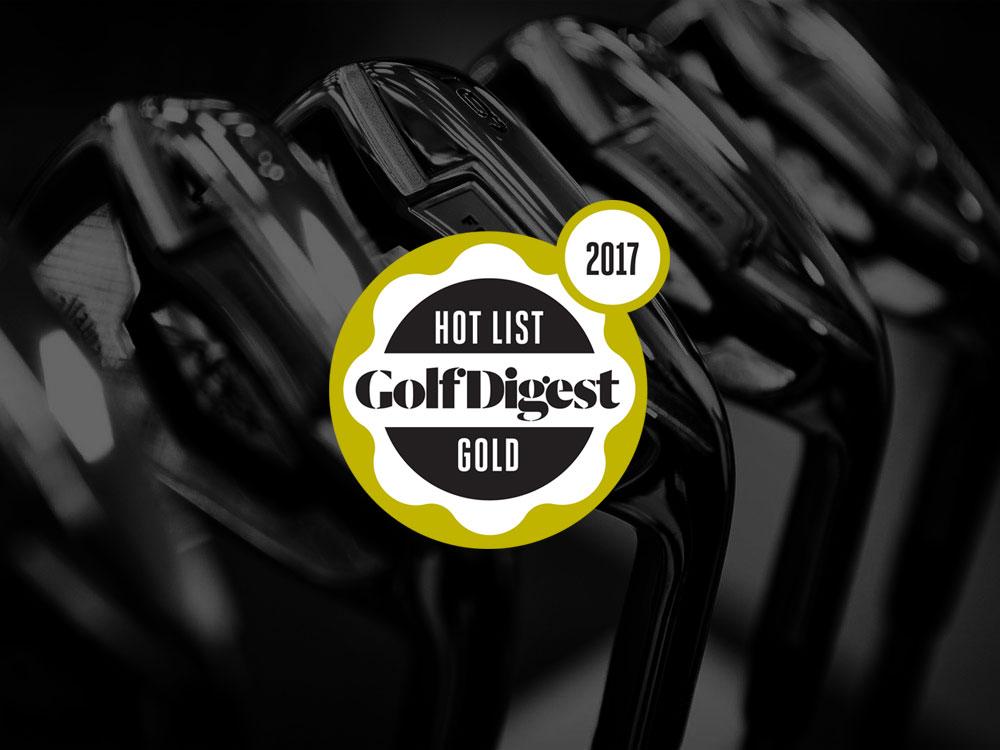 Callaway Apex Pro 16 Irons 2017 Golf Digest Hot List Badge