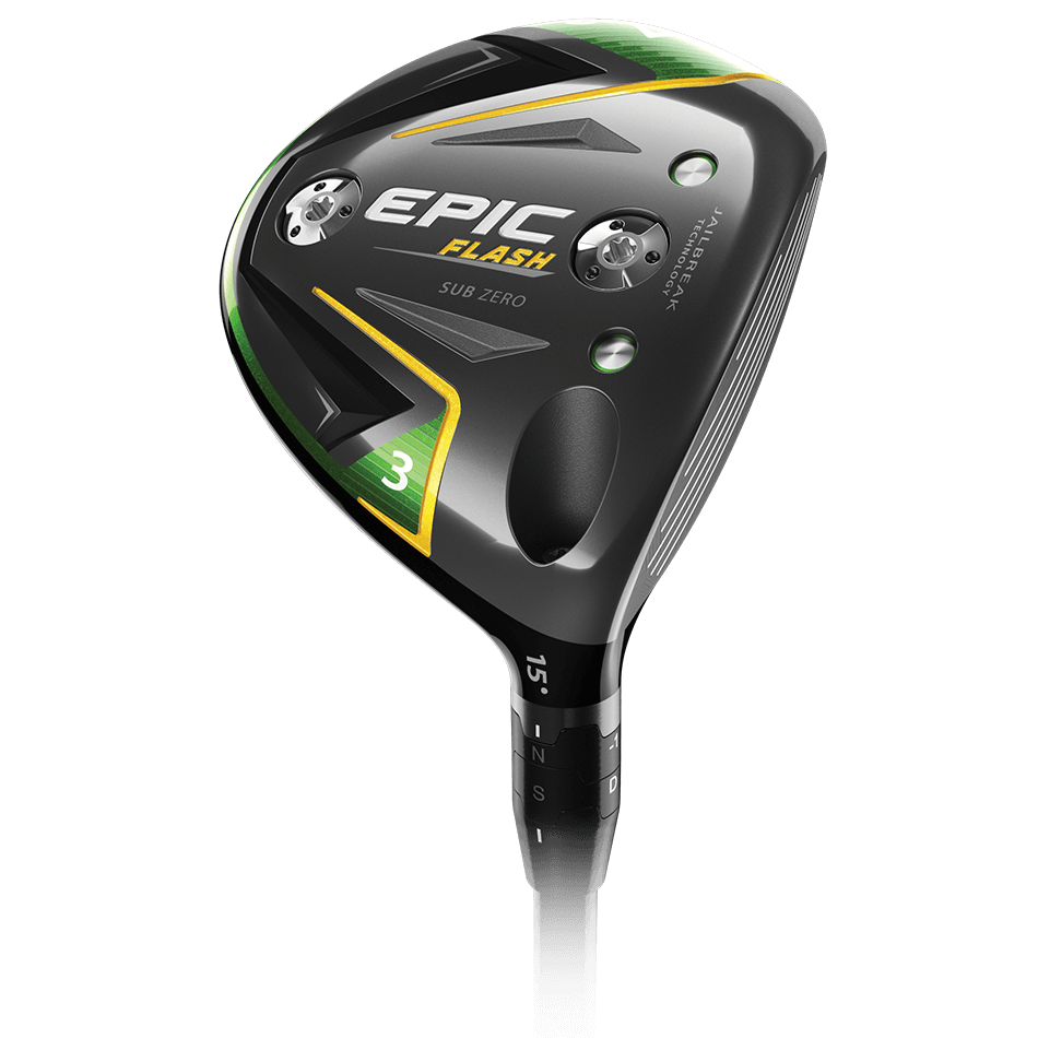 Epic Flash Sub Zero Fairway Woods Technology Item
